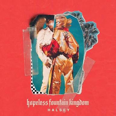 Hopeless Fountain Kingdom (Deluxe) Music - Halsey (CD) front image (front cover)