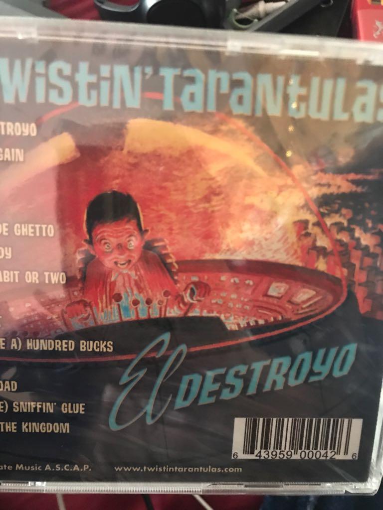 Eldest ElDestroyo Music front image (front cover)