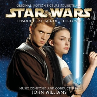 Star Wars: Episode II - Attack Of The Clones Music - Williams, John (CD) front image (front cover)