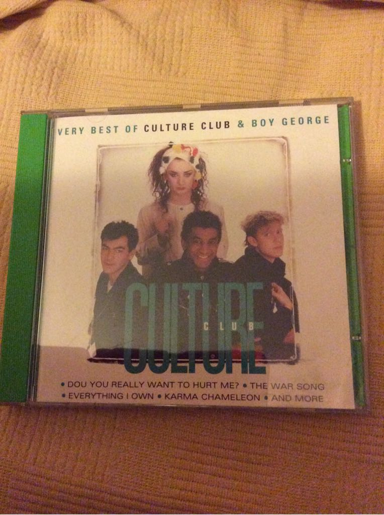 Best Of Boy George & Culture Club Music - Culture Club (CD) front image (front cover)