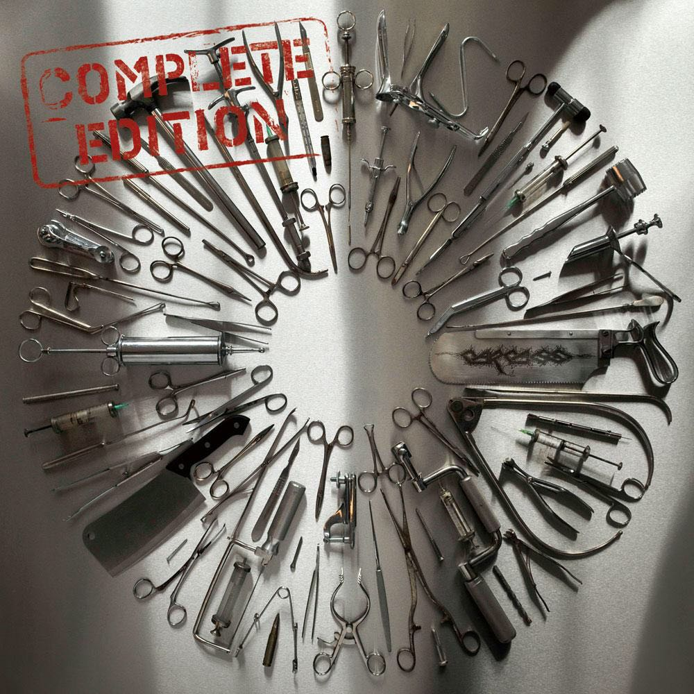 "Surgical Steel [Complete Edition] Music - Carcass (12"") front image (front cover)"