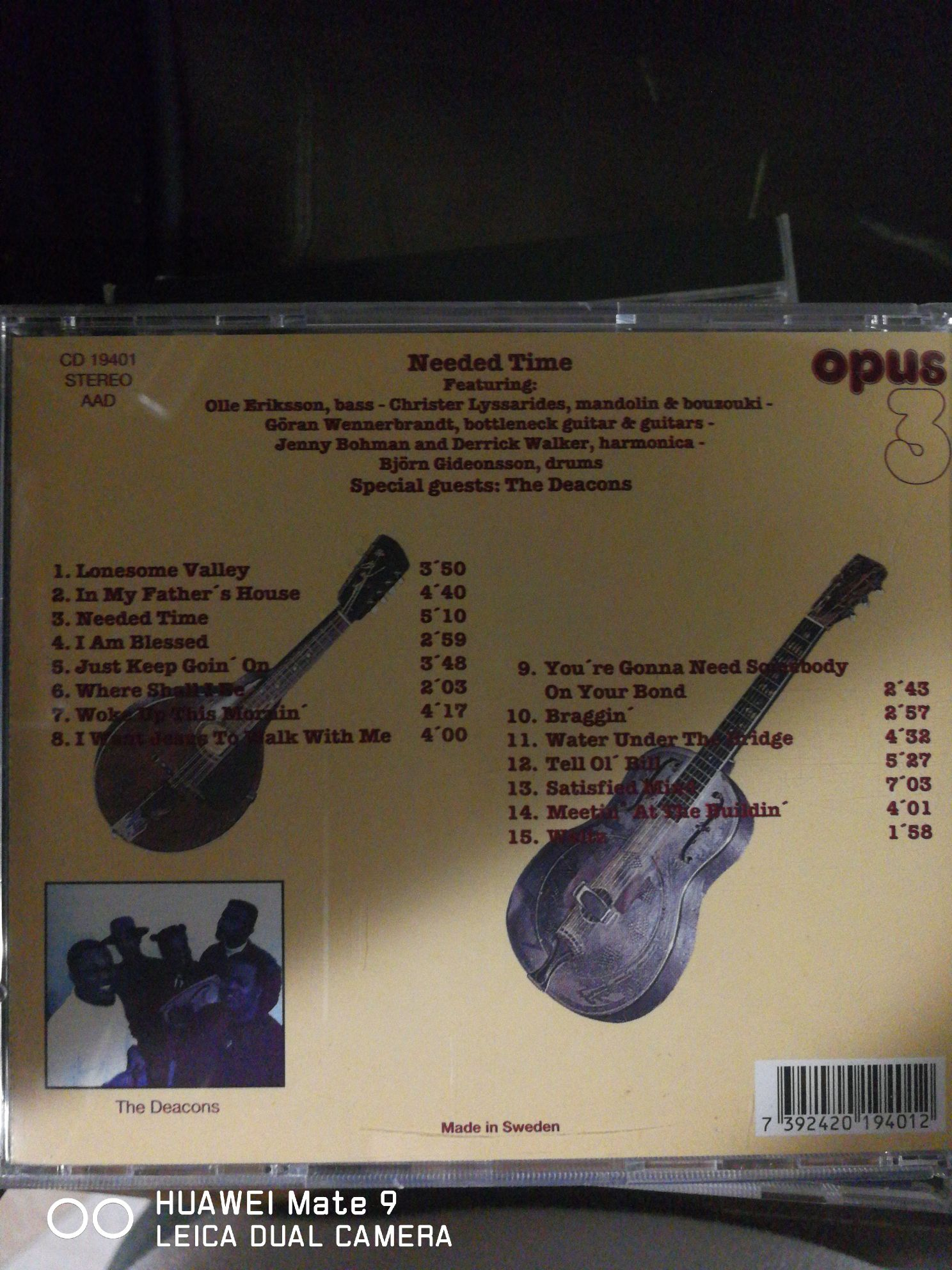 Spirit & And The Blues Music - Bibb, Eric (CD) back image (back cover, second image)