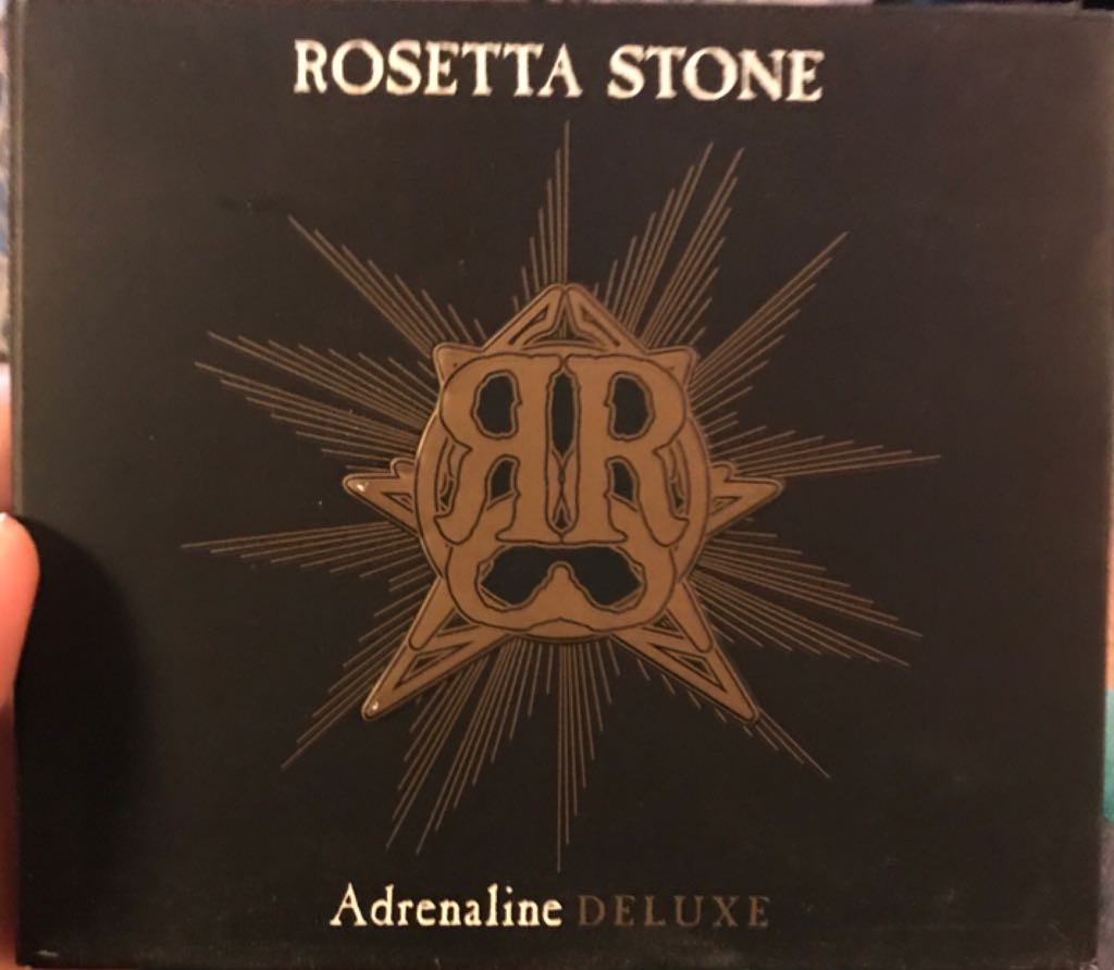 Adrenaline Deluxe Music - Rosetta Stone (CD) front image (front cover)