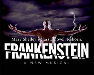 Frankenstein: A New Musical Music - Concept Recording (CD) front image (front cover)