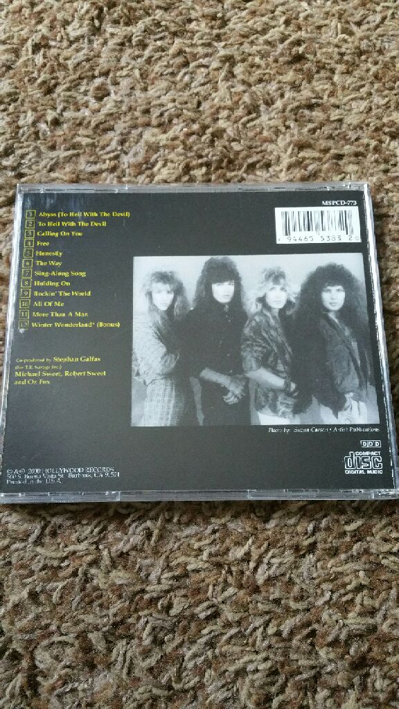 To Hell With The Devil Original Cover Music Stryper Cd From