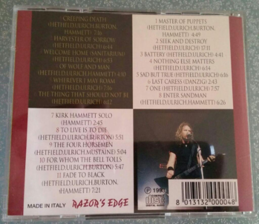 Bootleg) Kick It Loud Music - Metallica (CD) - from Sort It Apps