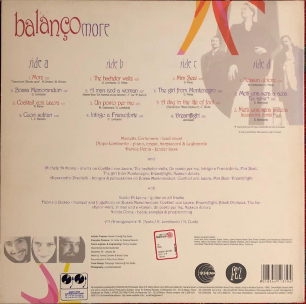 "More Music - Balanco (12"") back image (back cover, second image)"