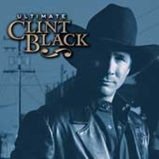 Ultimate Clint Black (MP3) Music - Black, Clint (CD) front image (front cover)
