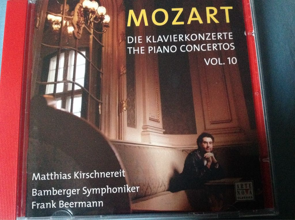 Wolfgang Amadeus Mozart : Piano Concertos Vol. 10 Music - Bamberger Symphoniker (CD) front image (front cover)