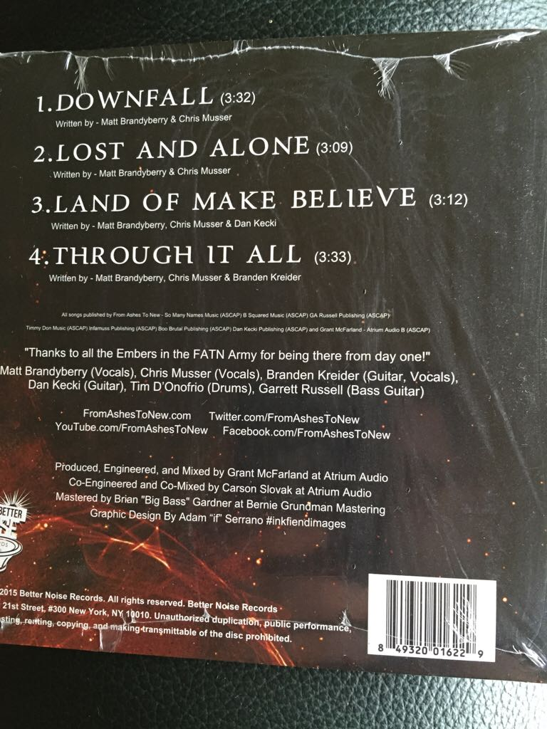 Downfall Music - From Ashes To New (CD) - from Sort It Apps