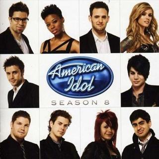 American Idol: Season 8 Music - American Idol (CD) front image (front cover)
