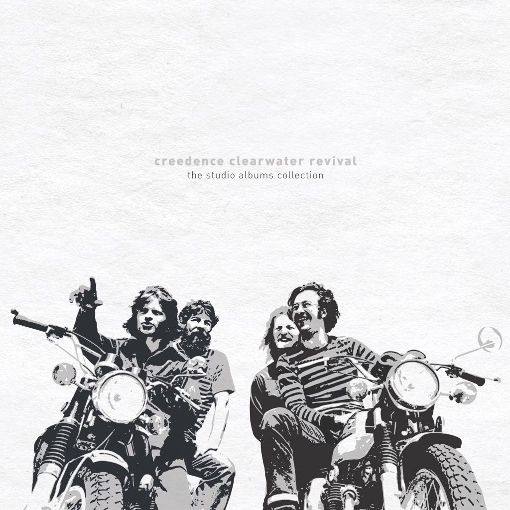"The Studio Albums Collection Music - Creedence Clearwater Revival (12"") front image (front cover)"
