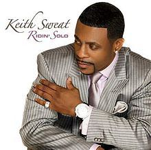 Rodin' Solo Music - Keith Sweat (CD) front image (front cover)