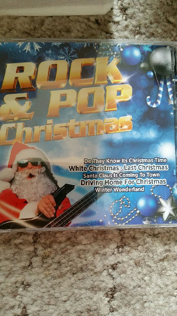 rock pop christmas music various front image front cover - Pop Christmas Music