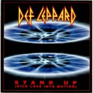 Stand Up Music - Def Leppard (CD) front image (front cover)