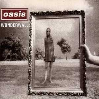 Wonderwall Music - Oasis (CD) front image (front cover)