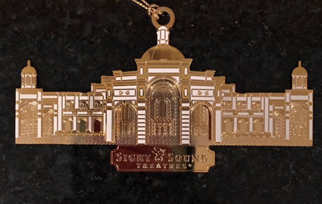 Sight And Sound Theaters Ornament - ChemArt front image (front cover)