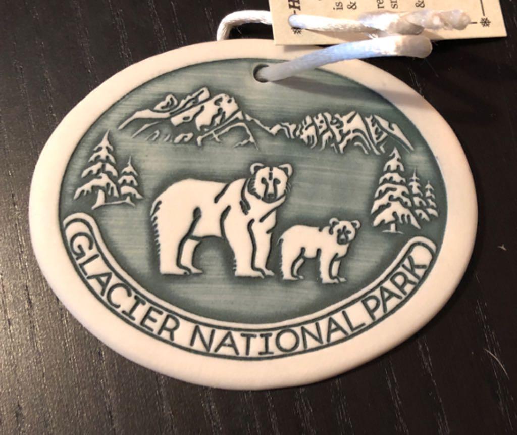 Glacier National Park Ornament (2018) front image (front cover)