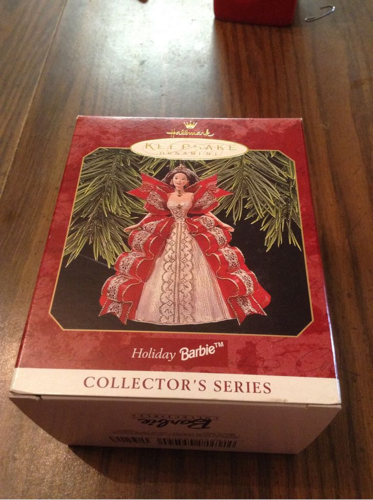 Holiday Barbie Ornament (1997) front image (front cover)