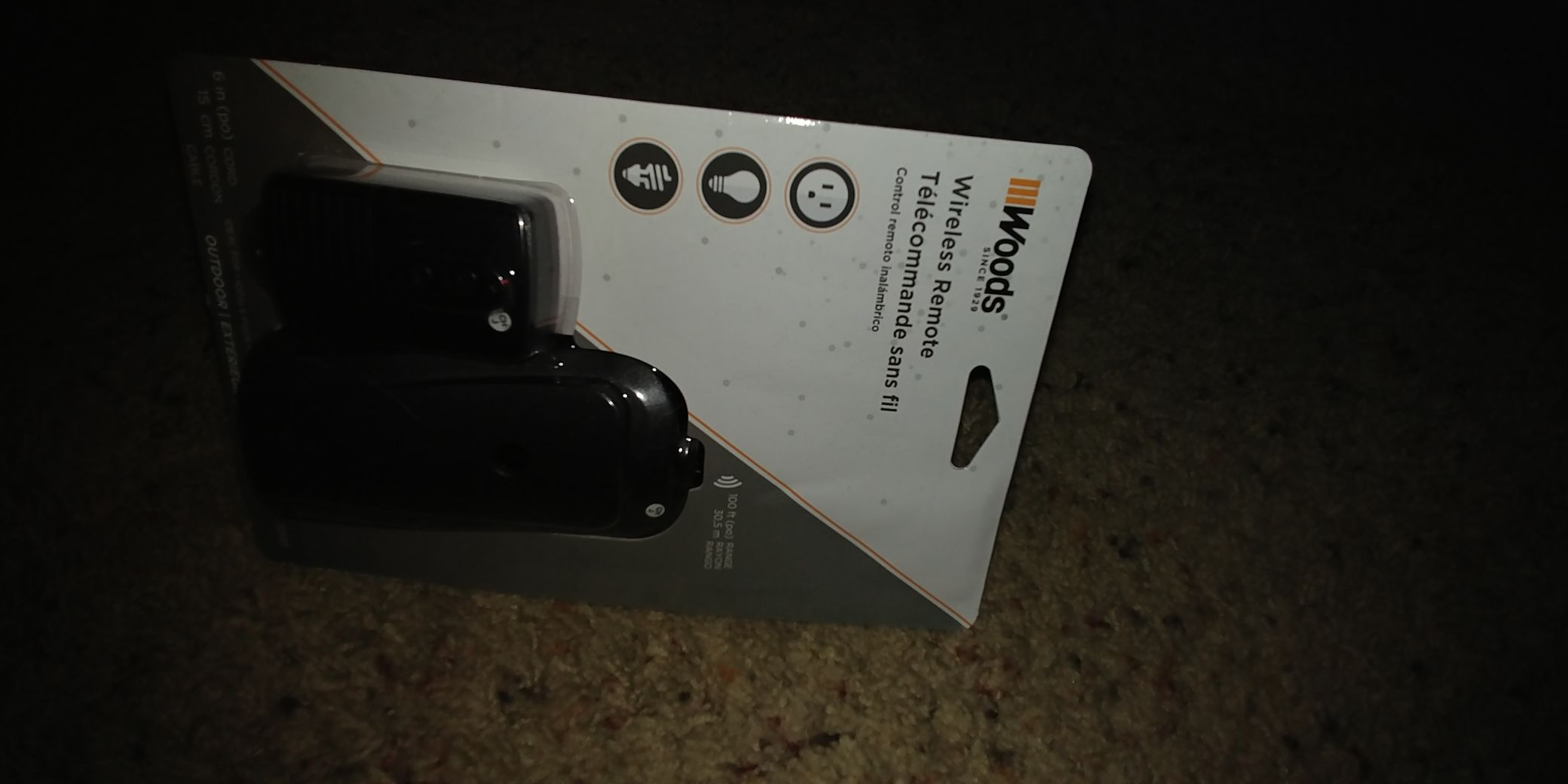 Wireless Remote Ornament - Woods (2018) front image (front cover)