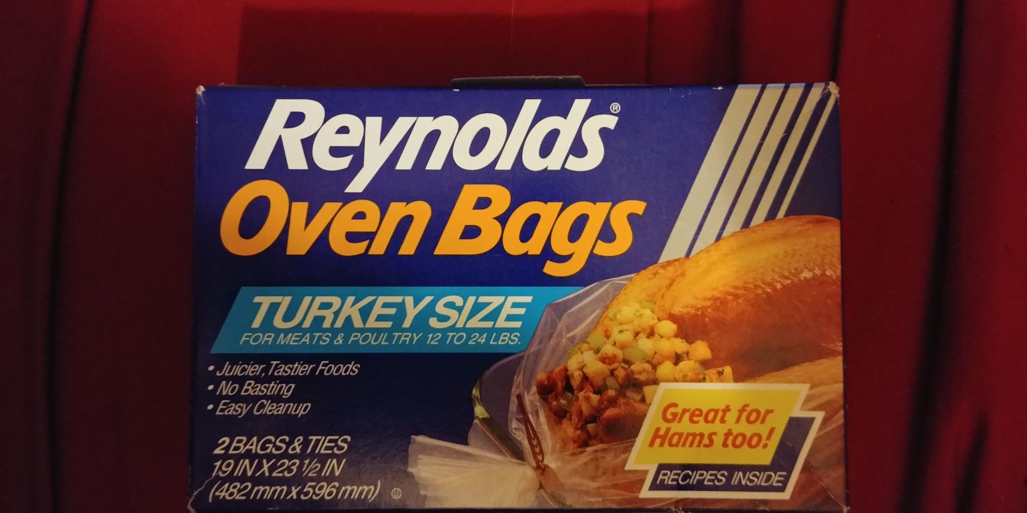 Reynolds Oven Bags (Turkey Size) Ornament - Reynolds front image (front cover)