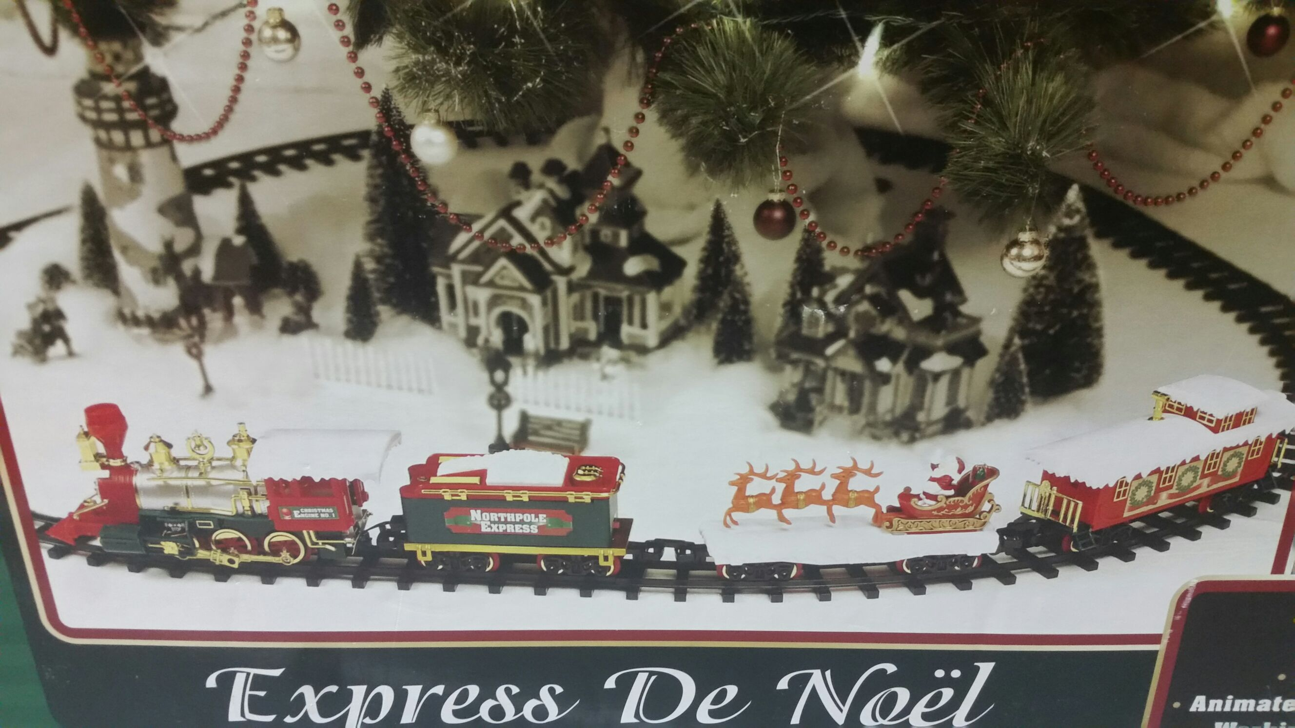 Toy State Christmas Time Express Ornament - Toy State Industrial Ltd. (2005) front image (front cover)