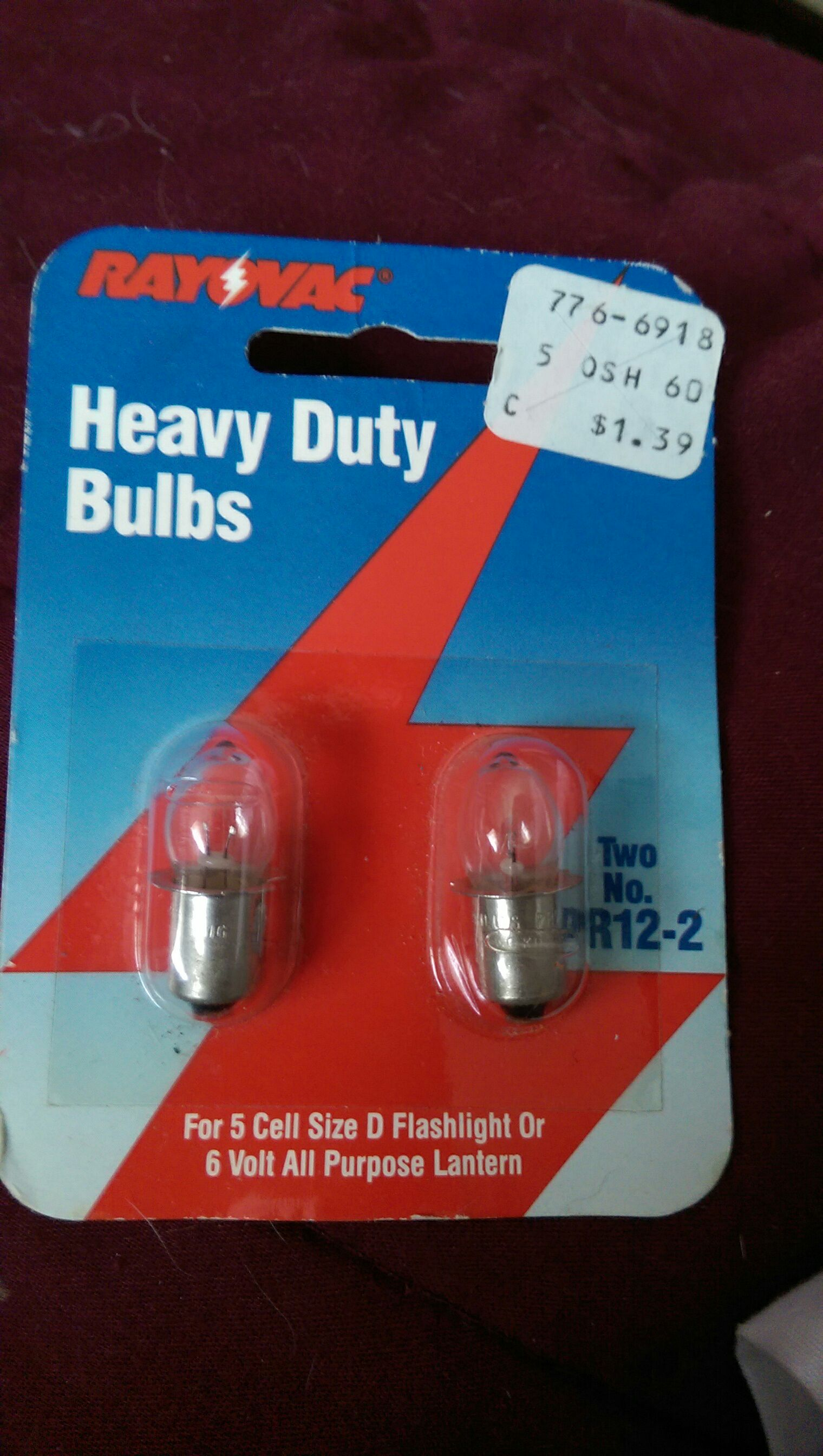 Heavy Duty Bulbs Ornament front image (front cover)