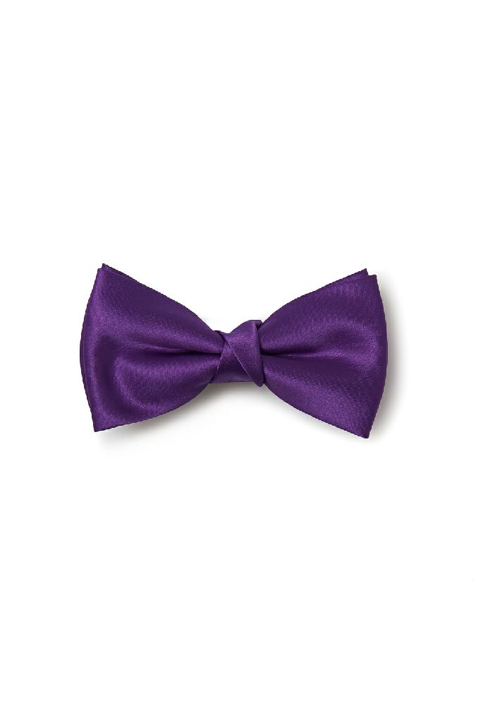 Bowtie Purple Ornament - amscan front image (front cover)