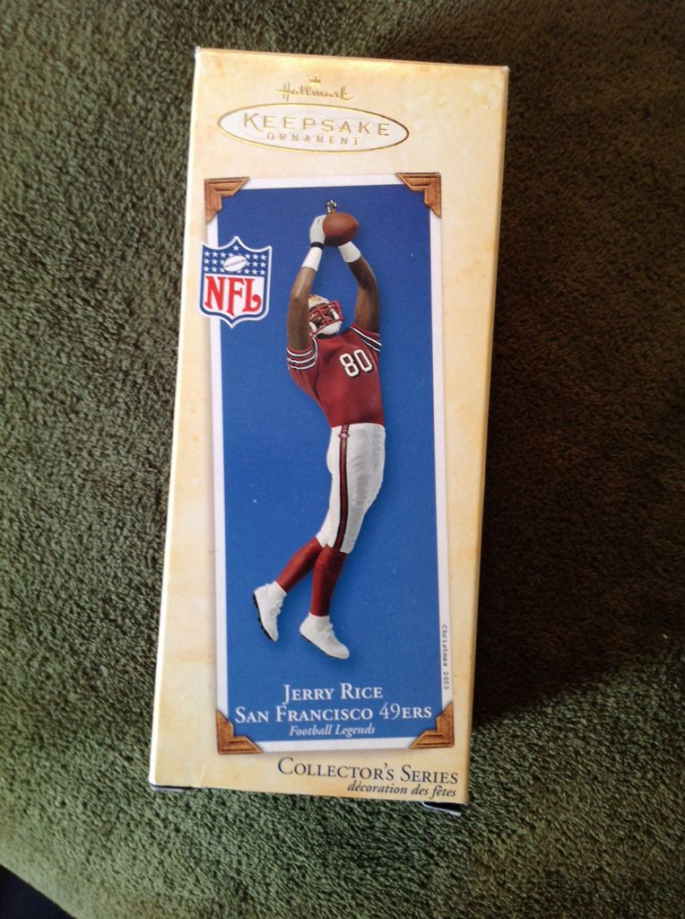 Jerry Rice Ornament (2003) front image (front cover)