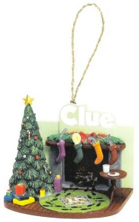 Clue Collectible Ornament Ornament - Basic Fun, Inc. (2005) back image (back cover, second image)