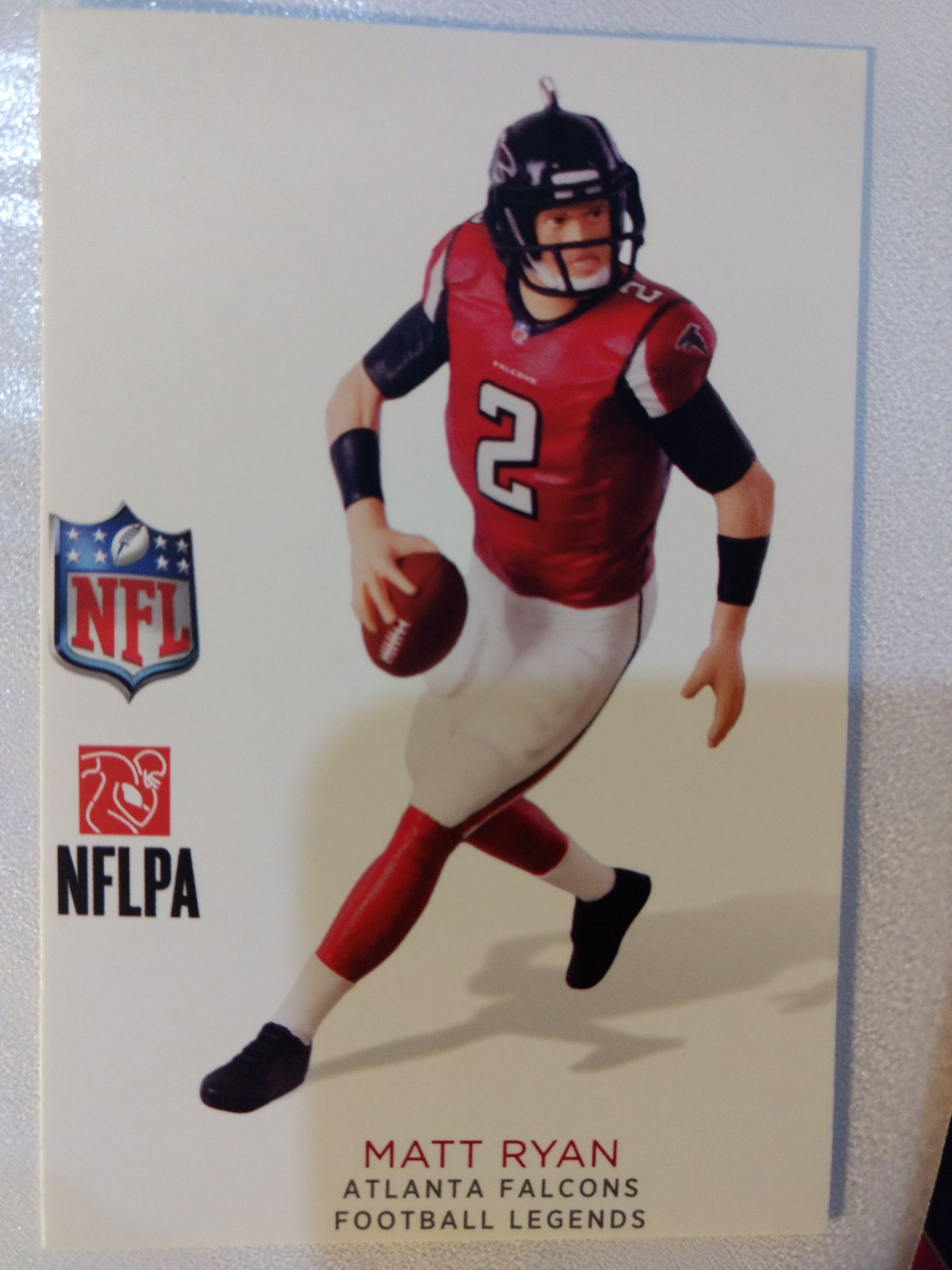 Aports - Football - Matt Ryan Ornament - Hallmark front image (front cover)