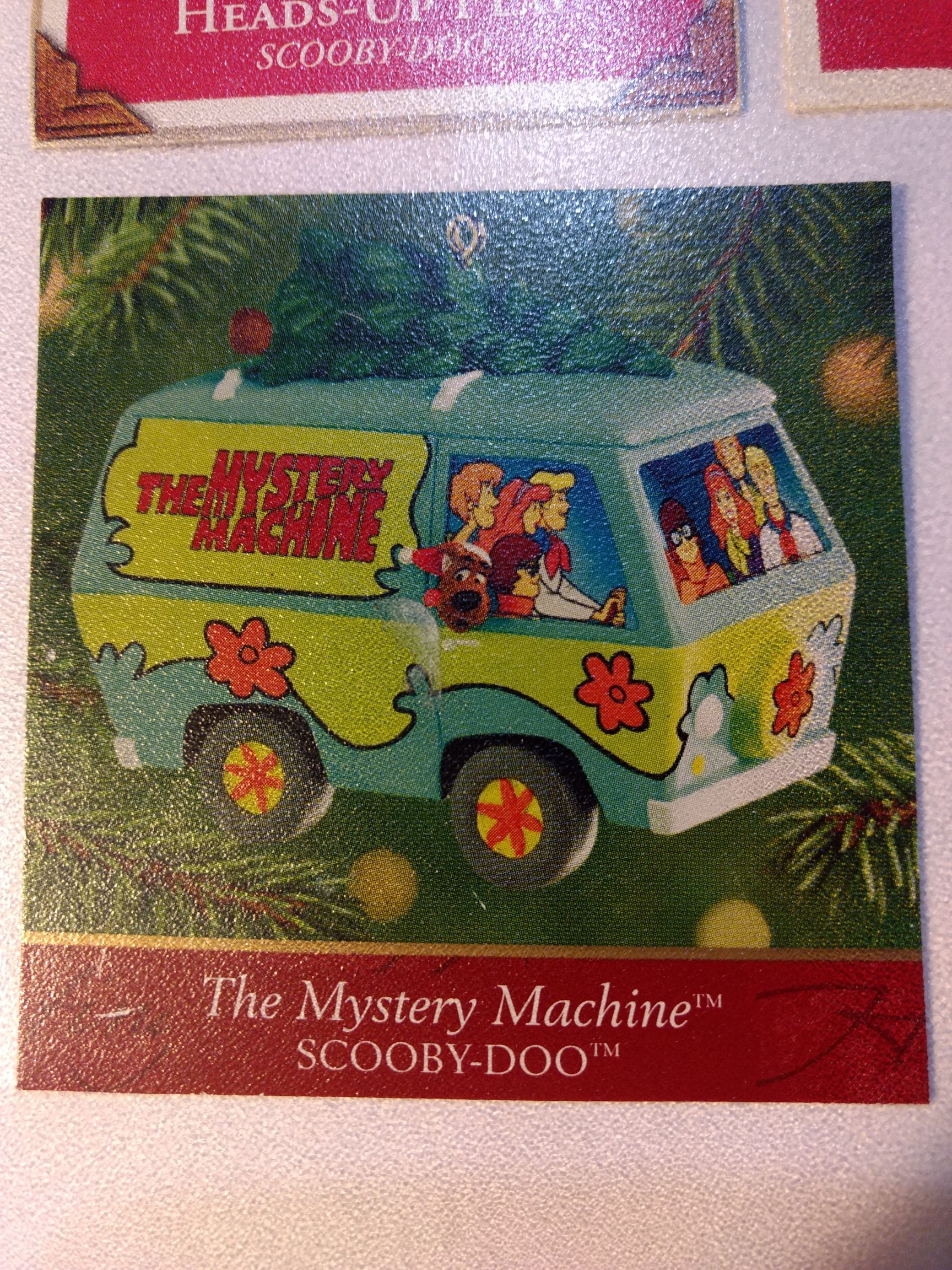 Scooby Doo - The Mystery Machine - Tree On Top Ornament - Hallmark front image (front cover)