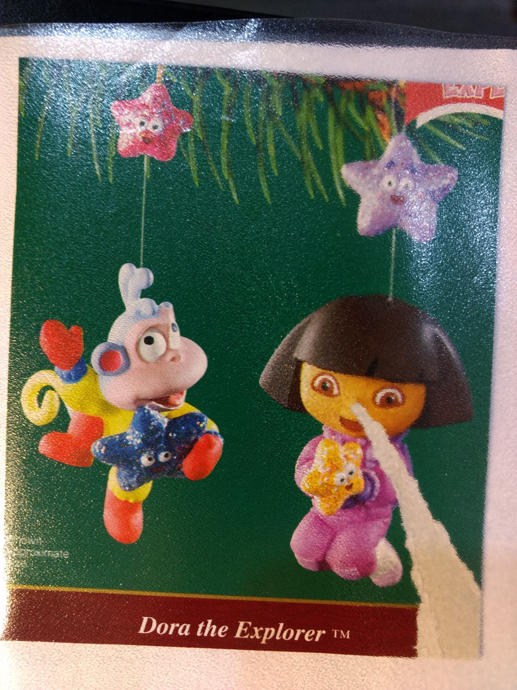 Dora - Dora The Explorer Ornament - Carlton Cards front image (front cover)