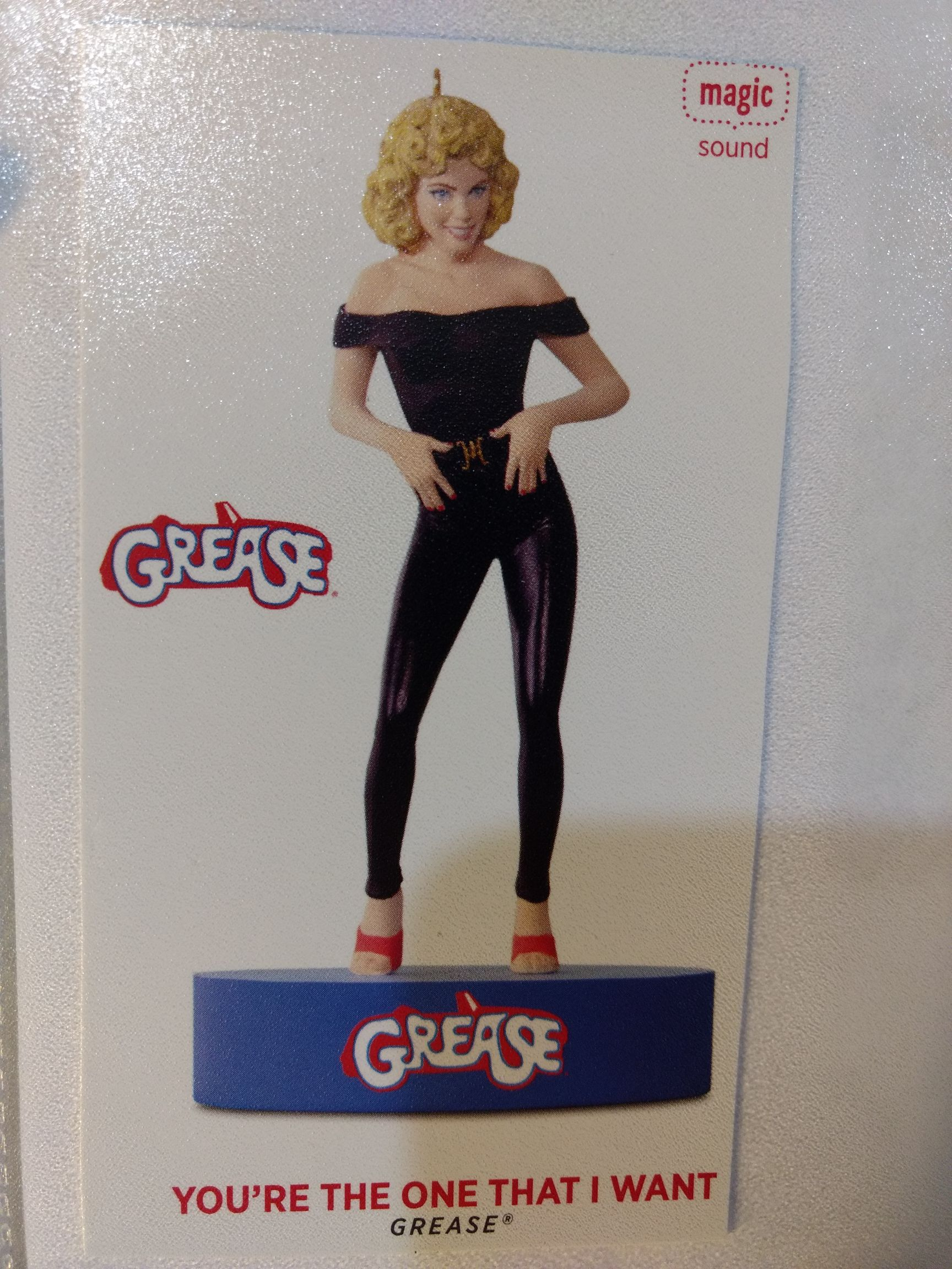 Grease - You're The One That I Want - Sandy Ornament front image (front cover)
