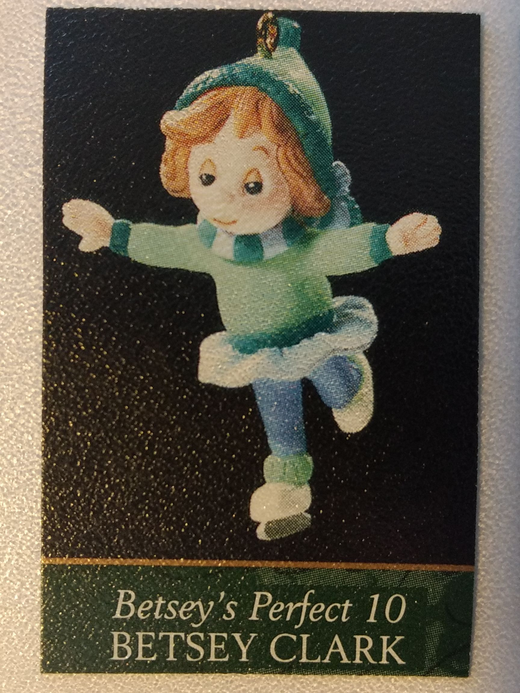 Z - Betsey Clark Ornament - Hallmark front image (front cover)
