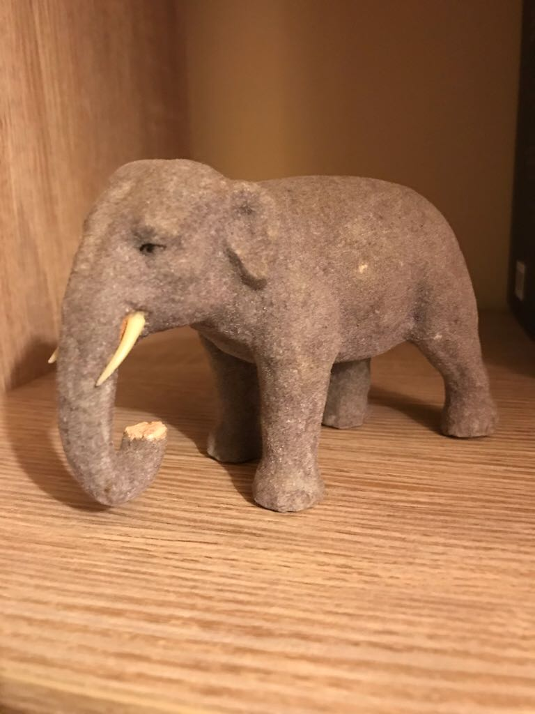 Elephant 1 Ornament front image (front cover)