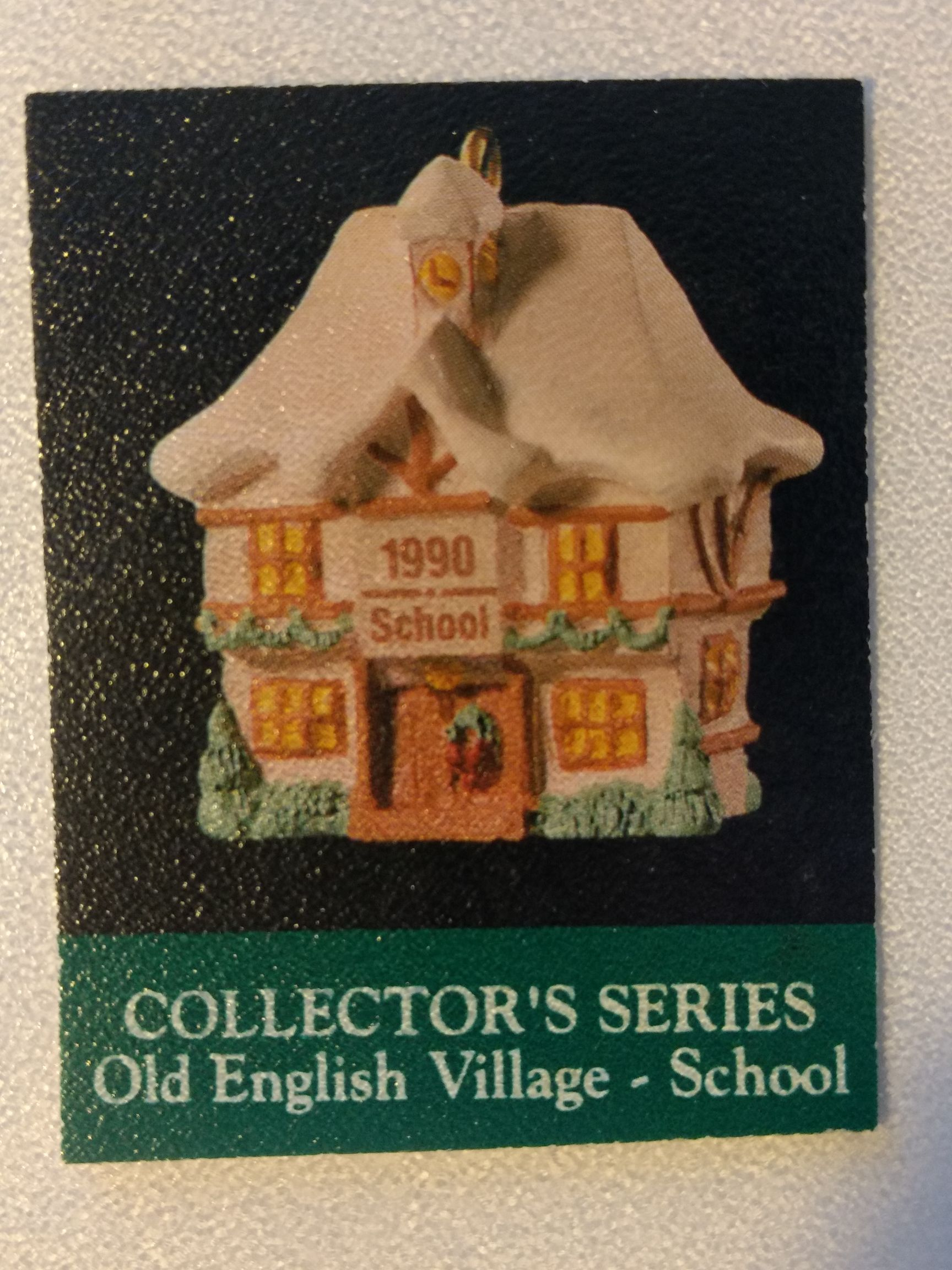 Z - Buildings - Old English Village Ornament - Hallmark front image (front cover)
