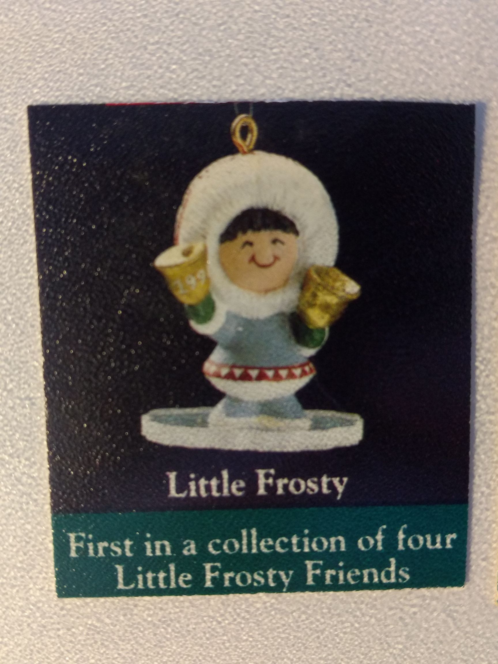 Z - Little Frosty Friends Ornament - Hallmark front image (front cover)