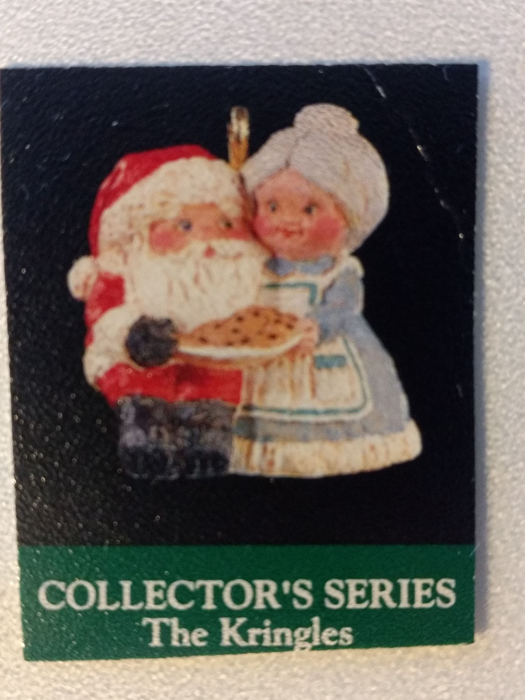 Z - Santa - The Kringles Ornament - Hallmark front image (front cover)