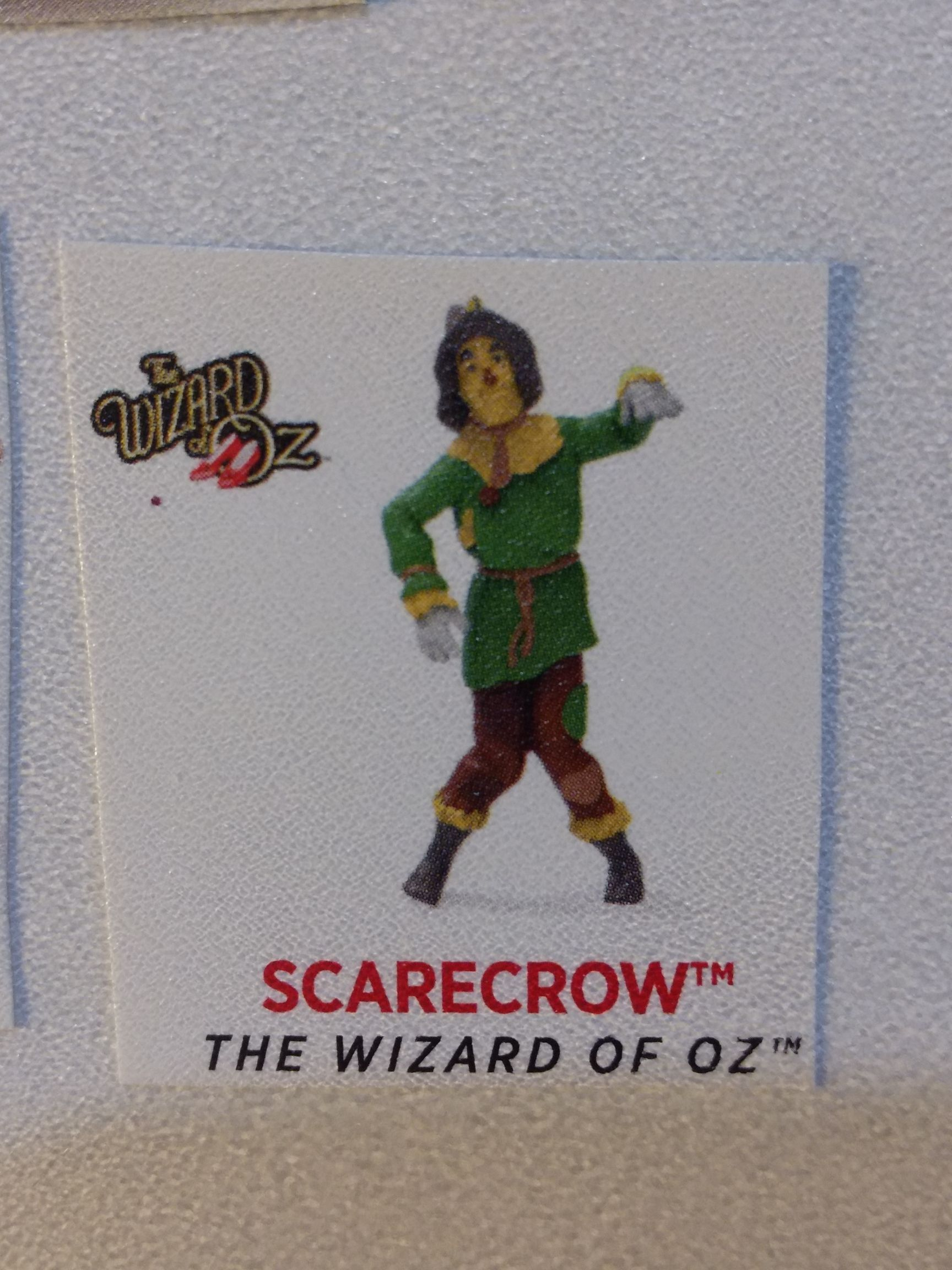 Z - Wizard Of Oz - Scarecrow Ornament - Hallmark front image (front cover)