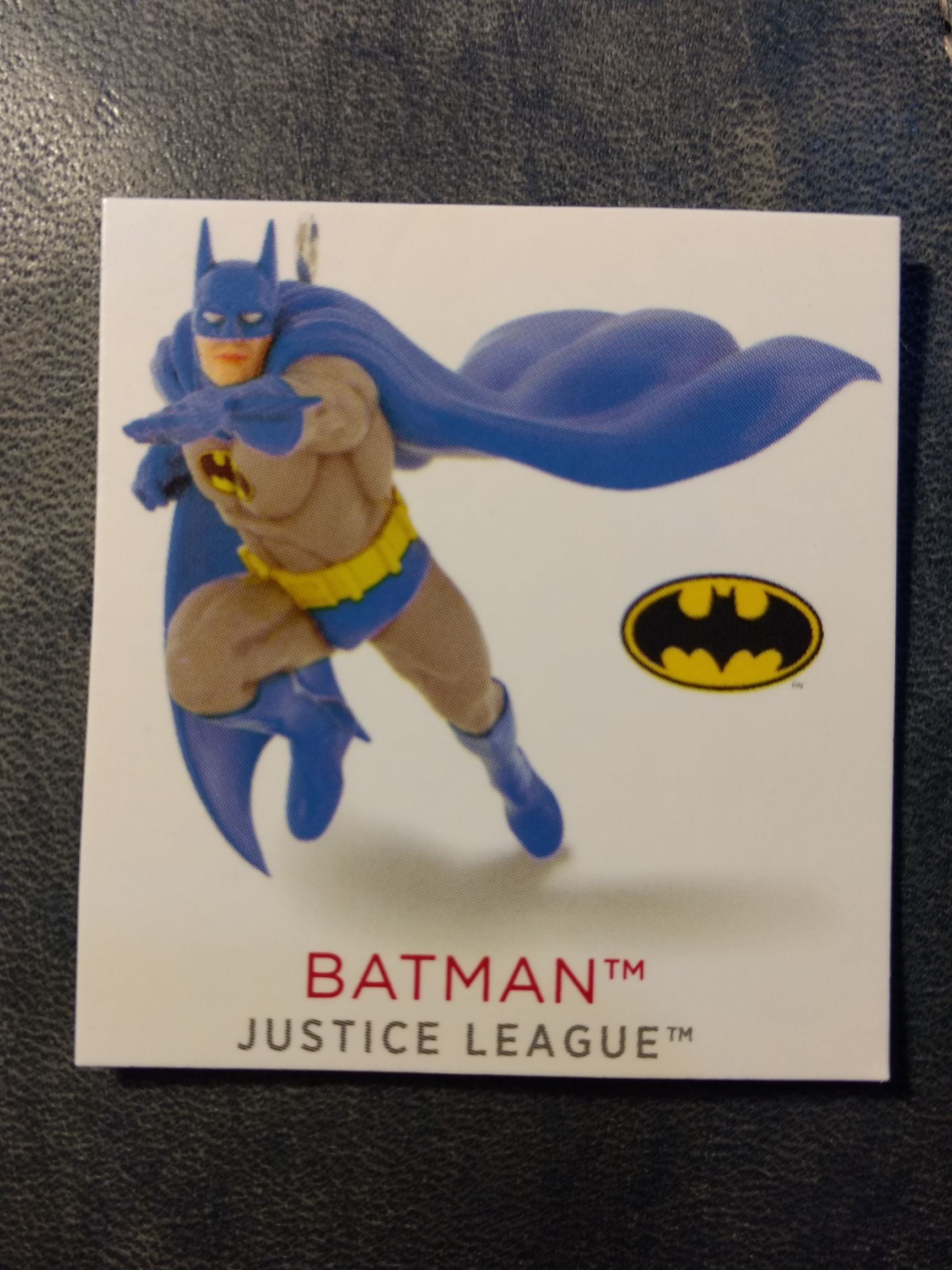 Z - DC Comics - Batman Ornament - Hallmark front image (front cover)