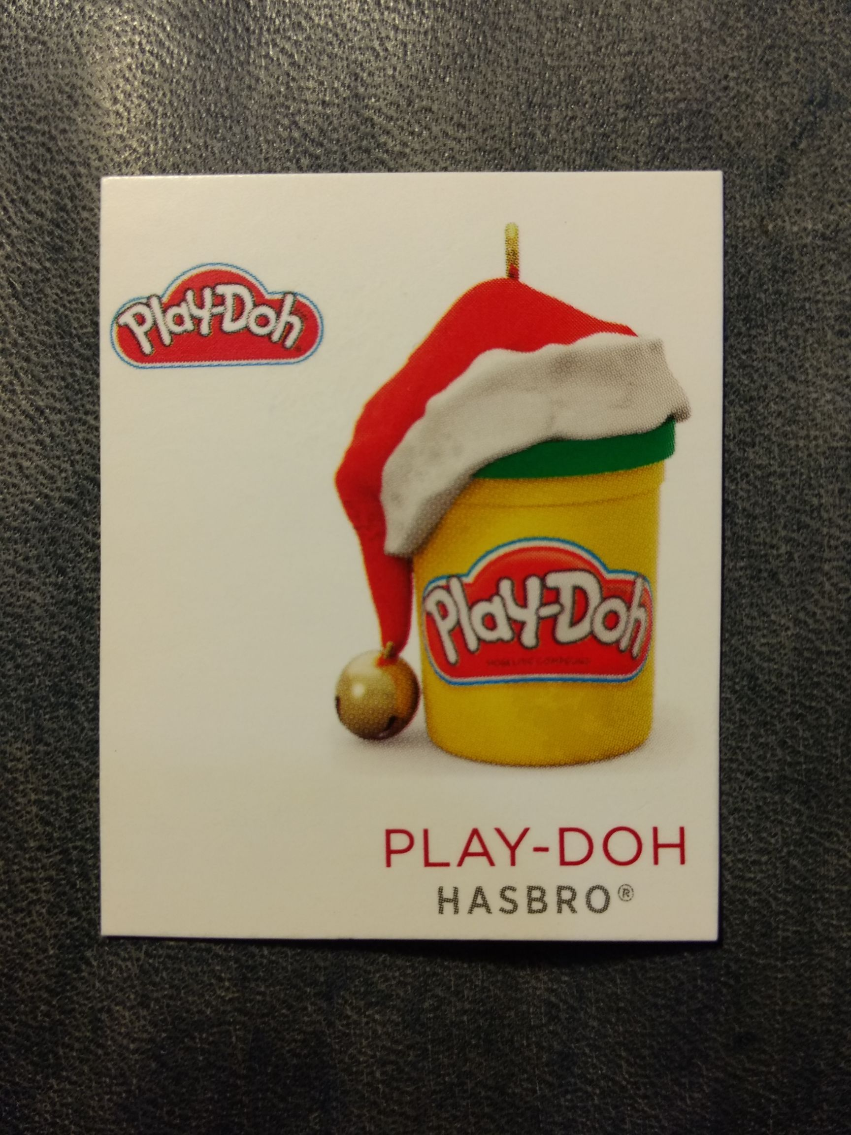 Z - Retro - Play-Doh Ornament - Hallmark front image (front cover)