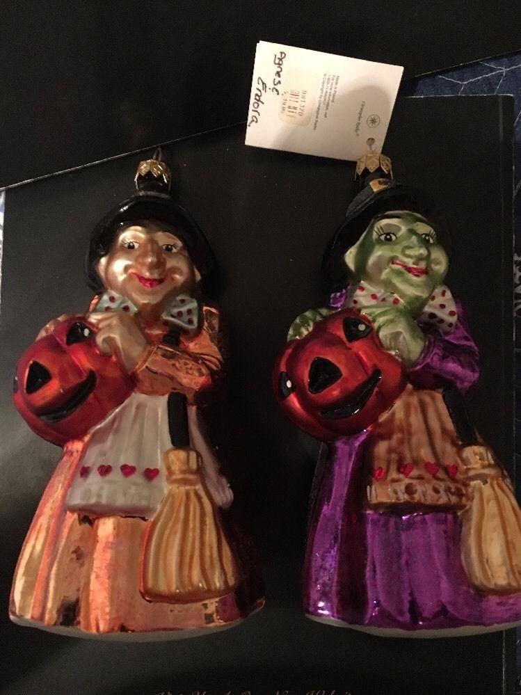 Agnes and Endora Gem, Asst 2 Ornament - Christopher Radko (2000) front image (front cover)