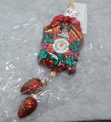 Christmas Time Ornament - Christopher Radko (2000) front image (front cover)