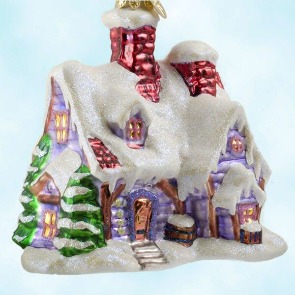 Holiday Hideaway Ornament - Christopher Radko (2000) front image (front cover)
