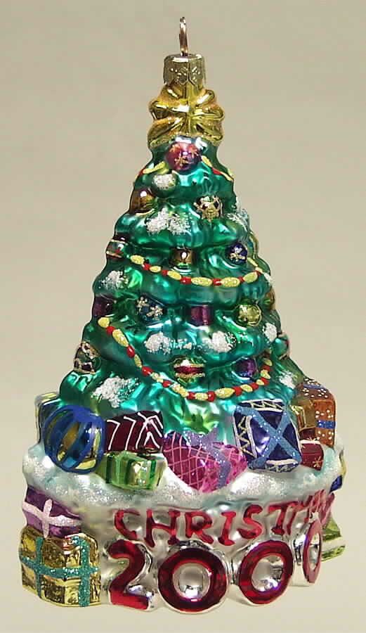 Tree Trimmed Ornament - Christopher Radko (2000) front image (front cover)