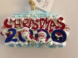 Santas 2000 Ornament - Christopher Radko (2000) front image (front cover)