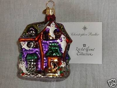 Howl Manor Gem Ornament - Christopher Radko (2000) front image (front cover)