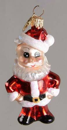 Who's Naughty Or Nice Ornament - Christopher Radko (2000) front image (front cover)