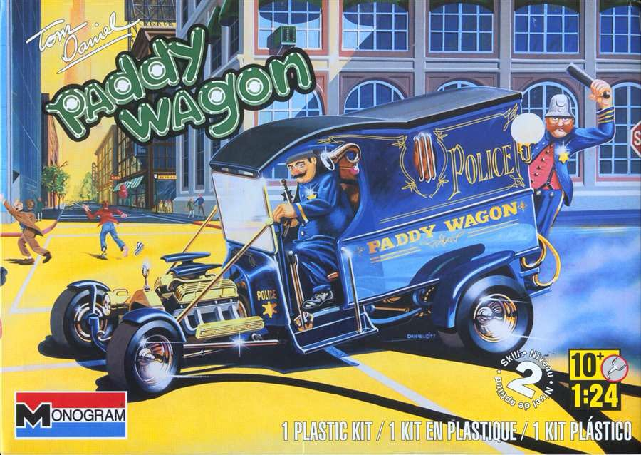 Tom Daniel Paddy Wagon Plane - Monogram front image (front cover)